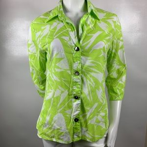 3For$20 Chico's Button Down 3/4  Sleeve Size 1